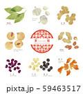 薬膳 / 漢方食材 / ほっこりイラスト-3 59463517