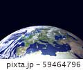 地球(ヨーロッパ)星なし 59464796