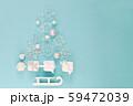 クリスマスプレゼントと飾りのツリー 59472039