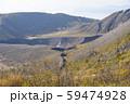 有珠山火口原展望台から見た火口 59474928
