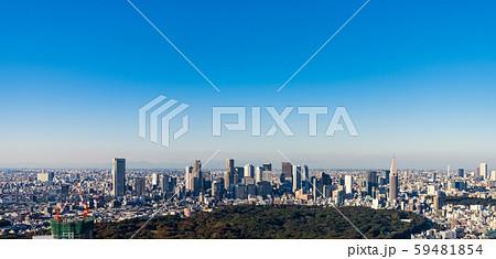 東京 都市 パノラマ 59481854