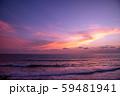 インドネシア バリ島の夕焼け 59481941