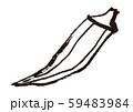 おくら 水彩画 59483984