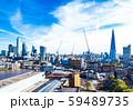 ロンドン ザ・シャードとシティ・オブ・ロンドンの高層ビル 59489735
