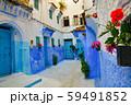 モロッコ 青い町 シャウエン 59491852