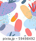 Creative trendy vector illustration of fashion cartoon color splash background. Art design trendy 59498492