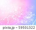 ファンタジーハート虹色キラキラ背景 59501322