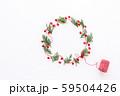 クリスマスリース 59504426
