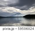 山中湖から見る富士山 59506024