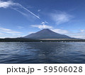 山中湖から見る富士山 59506028