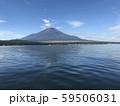 山中湖から見る富士山 59506031