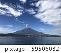 山中湖から見る富士山 59506032