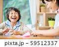 レクリエーション 折り紙 介護イメージ シニア デイケア 介護福祉士 老人ホーム 59512337
