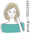 肌のトラブル ニキビ 59522950