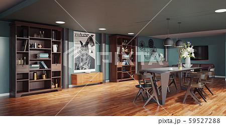 modern dinning room interior 59527288