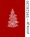 Abstract Christmas tree collected from different words. 59528130