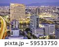 福岡タワーから見る福岡市の素晴らしい夜景 59533750