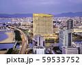 福岡タワーから見る福岡市の素晴らしい夜景 59533752