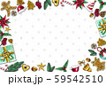 Christmas background by using materials paint with watercolor to design,and have space to put your text.Concept Christmasday and a happy New Year. 59542510