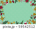 Christmas background by using materials paint with watercolor to design,and have space to put your text.Concept Christmasday and a happy New Year. 59542512