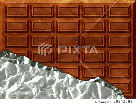 チョコレート 背景素材 59543598