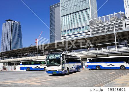 名古屋駅(新幹線口) JRハイウェイバスのりば JR名古屋 バスターミナル 59543691
