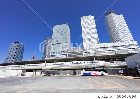 名古屋駅(新幹線口) JRハイウェイバスのりば JR名古屋 バスターミナル 59543694