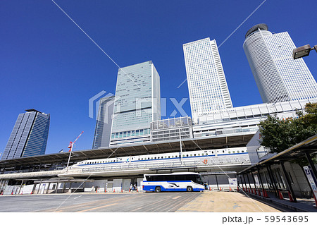 名古屋駅(新幹線口) JRハイウェイバスのりば JR名古屋 バスターミナル 59543695