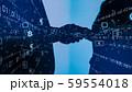 VR 5G AI 人工知能 フィンテック Fintech MaaS ICT ブロックチェーン 3D 59554018