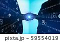VR 5G AI 人工知能 フィンテック Fintech MaaS ICT ブロックチェーン 3D 59554019