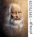 Digital painting version of the original portrait 59570159