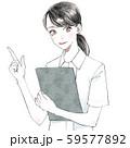 看護師さん(女性) 59577892