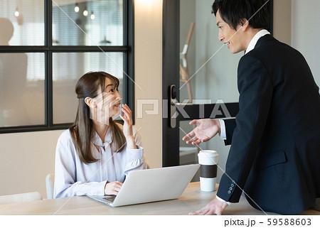 ビジネス 秘書 男女 59588603