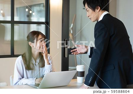 ビジネス 秘書 男女 59588604