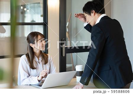 ビジネス 秘書 男女 59588606