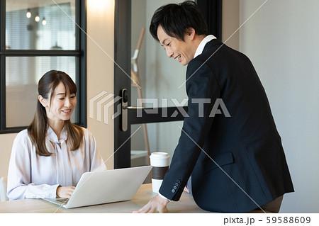 ビジネス 秘書 男女 59588609