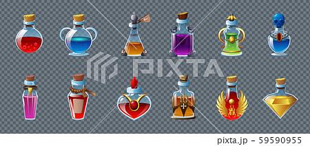 Magic Potion Transparent Set 59590955