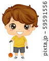 Kid Boy Yoyo Illustration 59591556