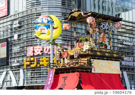 名古屋まつり 山車揃え 栄 大津通り 59604376