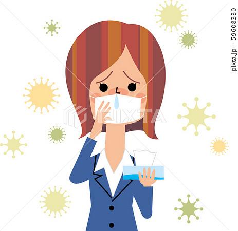 花粉症のOL 59608330