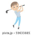 ゴルフ 若い男性 59633885