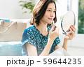 女性 メイク 化粧 リップ 口紅 59644235