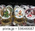 クリスマスのデコレーション、スノードーム 59646687