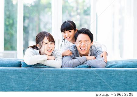 若い家族 59655509