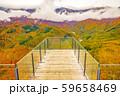 白馬岩岳からの風景【長野県白馬村】 59658469