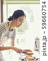 女性 ライフスタイル お弁当作り  59660754