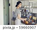 女性 ライフスタイル お弁当作り 59660907