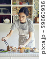 女性 ライフスタイル お弁当作り 59660936