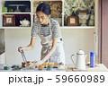 女性 ライフスタイル お弁当作り 59660989