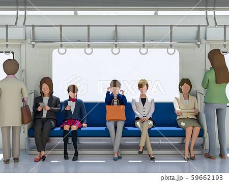 女性専用列車 59662193
